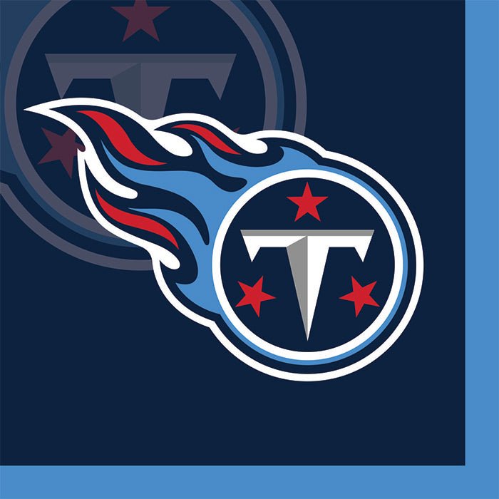 Tennessee Titans Beverage Napkins, 16 ct by Creative Converting