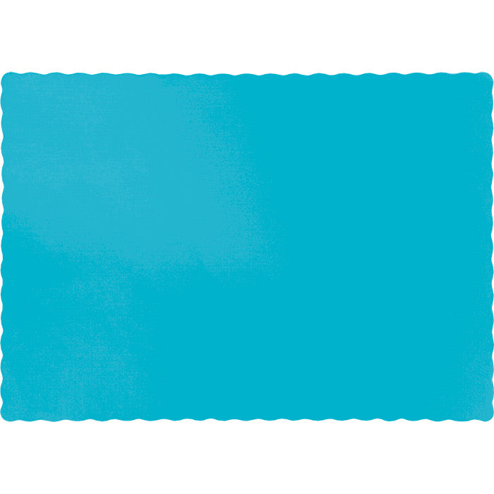 Bermuda Blue Placemats, 50 ct by Creative Converting