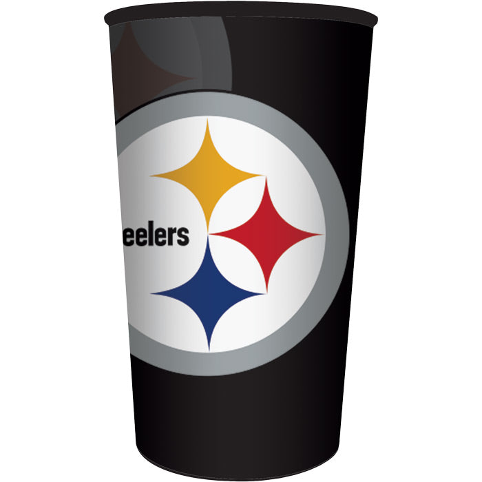 Pittsburgh Steelers Plastic Cup, 22 Oz by Creative Converting