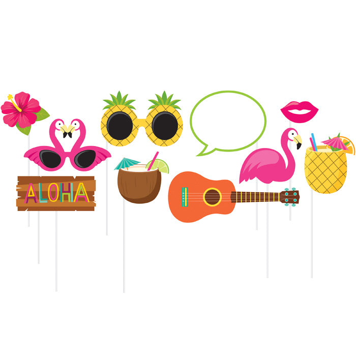 Luau Photo Booth Props, 10 ct by Creative Converting