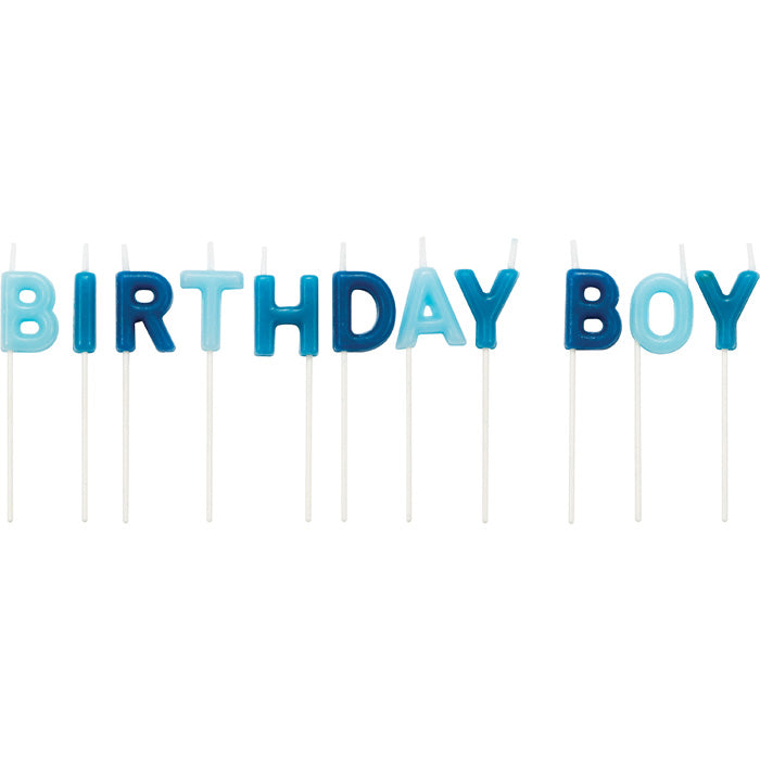 Birthday Boy Pick Candles, 12 ct by Creative Converting