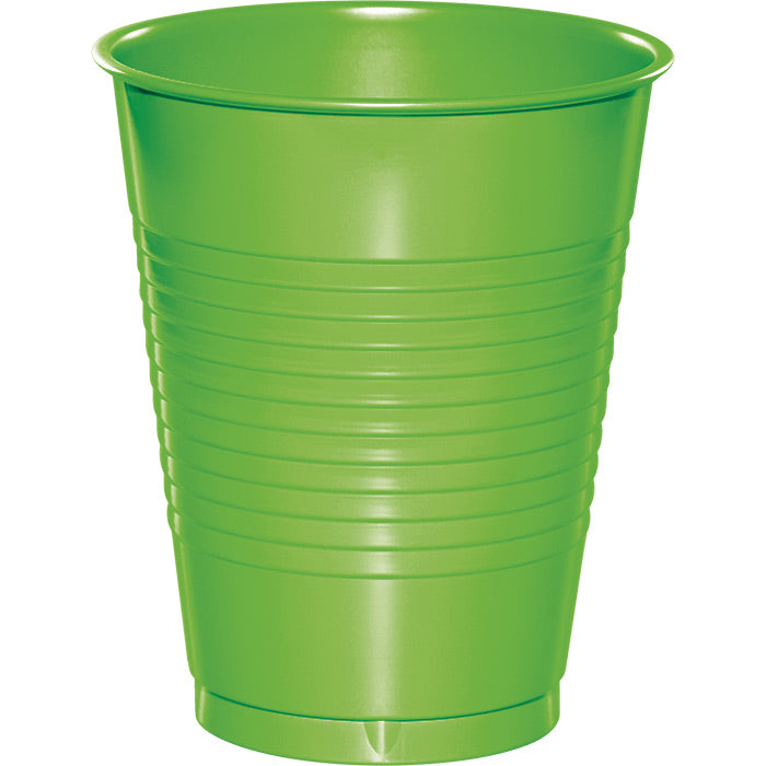 Fresh Lime Green Plastic Cups, 20 ct by Creative Converting