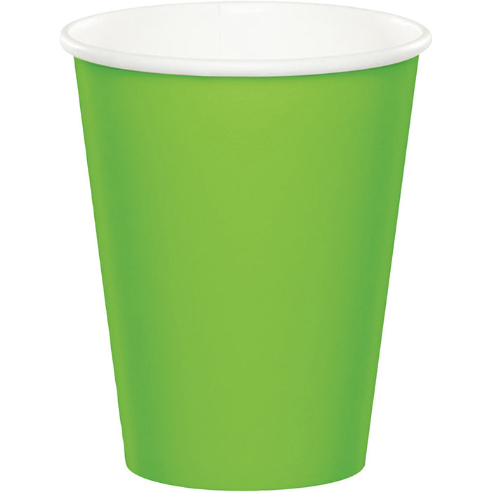 Fresh Lime Hot/Cold Paper Cups 9 Oz., 8 ct by Creative Converting