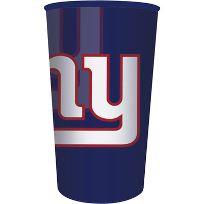 New York Giants Plastic Cup, 22 Oz by Creative Converting