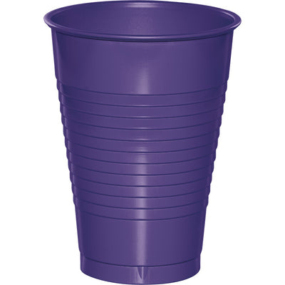 Purple 12 Oz Plastic Cups, 20 ct by Creative Converting