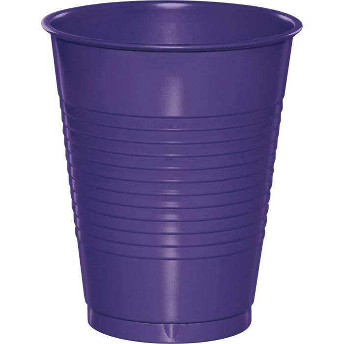 Purple Plastic Cups, 20 ct by Creative Converting