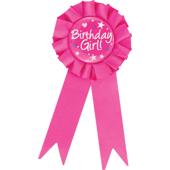 Birthday Girl Award Ribbon by Creative Converting