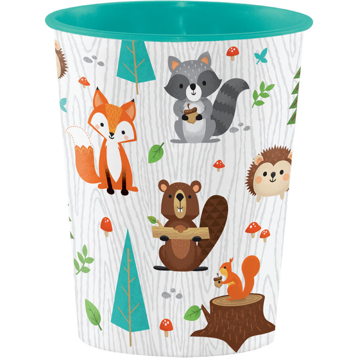 Wild One Woodland Plastic Cup by Creative Converting