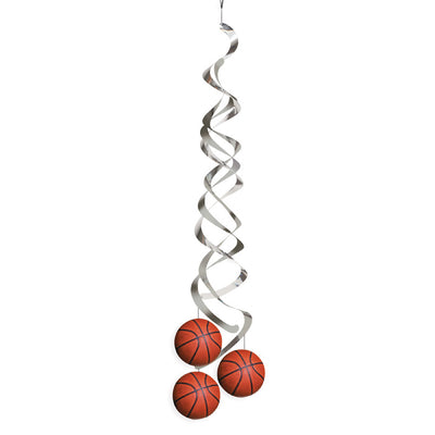 Basketball Deluxe Danglers, 2 ct by Creative Converting