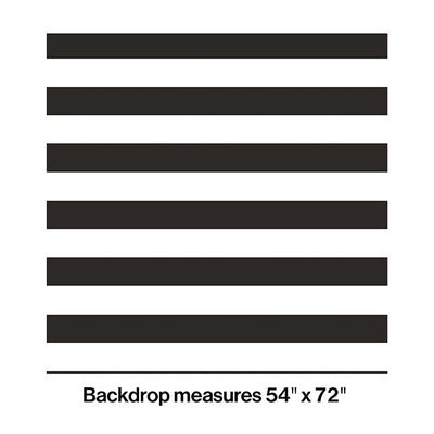 Black And White Stripe Photo Booth Backdrop Party Decoration