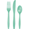 Fresh Mint Green Assorted Plastic Cutlery, 24 ct by Creative Converting