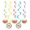 Confetti Sprinkles Dizzy Danglers, 5 ct by Creative Converting