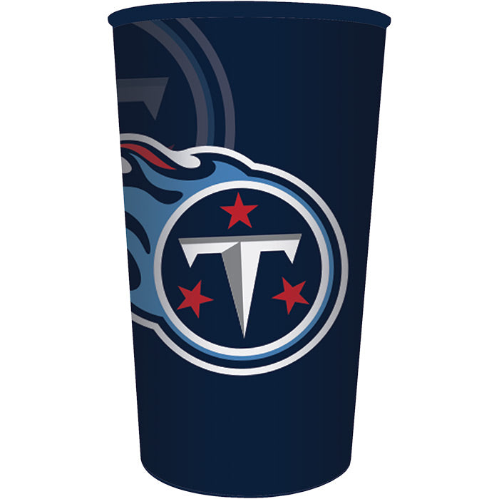 Tennessee Titans Plastic Cup, 22 Oz by Creative Converting
