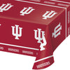 "Indiana University Plastic Tablecloth, 54"" X 108"" by Creative Converting"