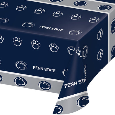 "Penn State University Plastic Tablecloth, 54"" X 108"" by Creative Converting"