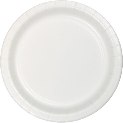 White Luncheon Plate, 75 ct by Creative Converting