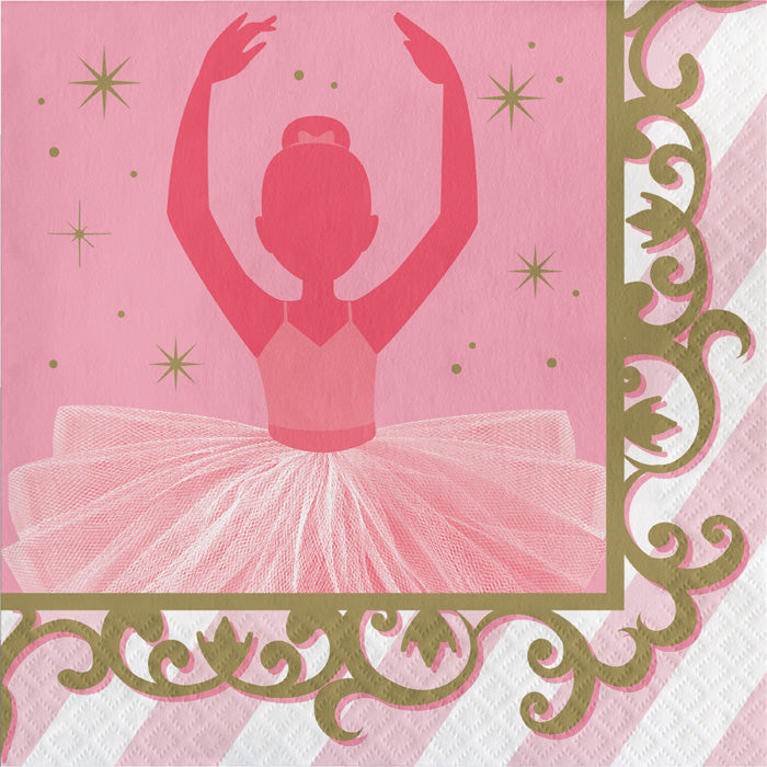 Ballet Napkins, 16 ct by Creative Converting