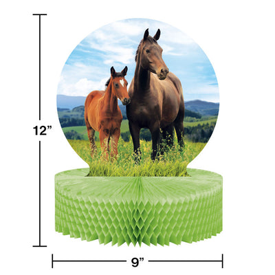 Horse And Pony Centerpiece Party Decoration