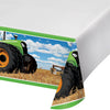 "Tractor Time Plastic Tablecover Border, 54"" X 102"" by Creative Converting"