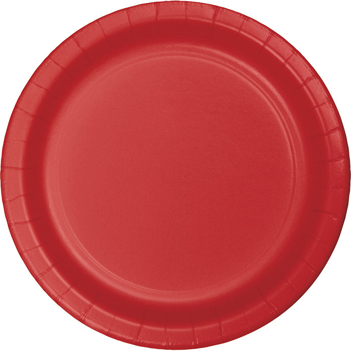 Classic Red Dessert Plates, 8 ct by Creative Converting