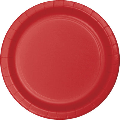 Classic Red Dessert Plates, 24 ct by Creative Converting