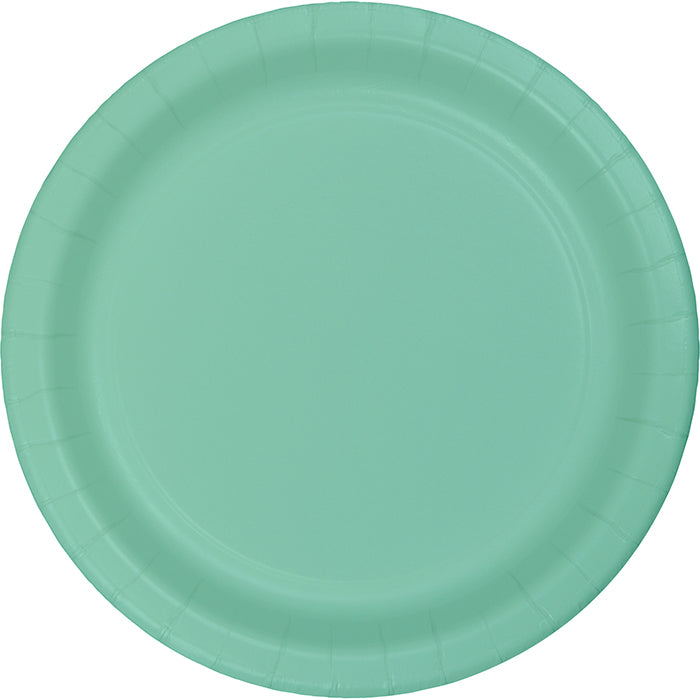 Fresh Mint Green Dessert Plates, 24 ct by Creative Converting