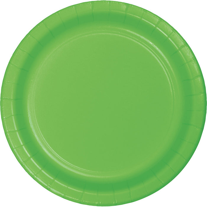 Fresh Lime Green Dessert Plates, 8 ct by Creative Converting