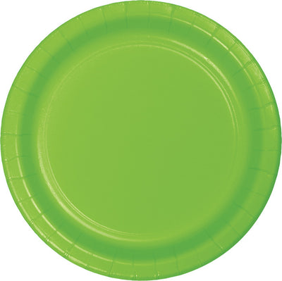 Fresh Lime Green Dessert Plates, 24 ct by Creative Converting