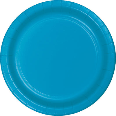 Turquoise Blue Dessert Plates, 24 ct by Creative Converting