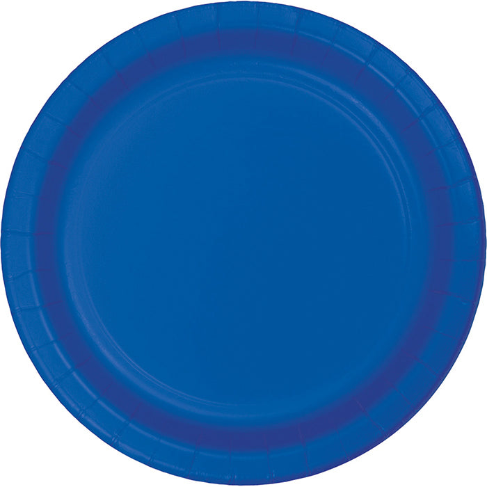 Cobalt Blue Dessert Plates, 8 ct by Creative Converting