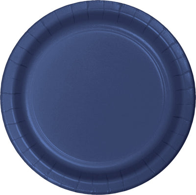 Navy Blue Dessert Plates, 24 ct by Creative Converting