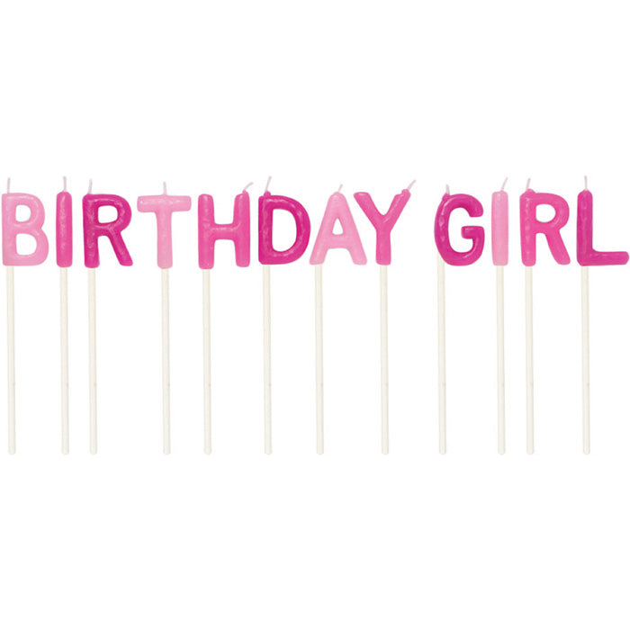 Birthday Girl Pick Candles, 12 ct by Creative Converting