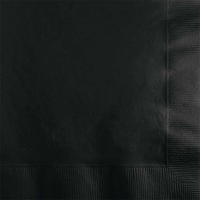 Black Velvet Beverage Napkin 2Ply, 50 ct by Creative Converting