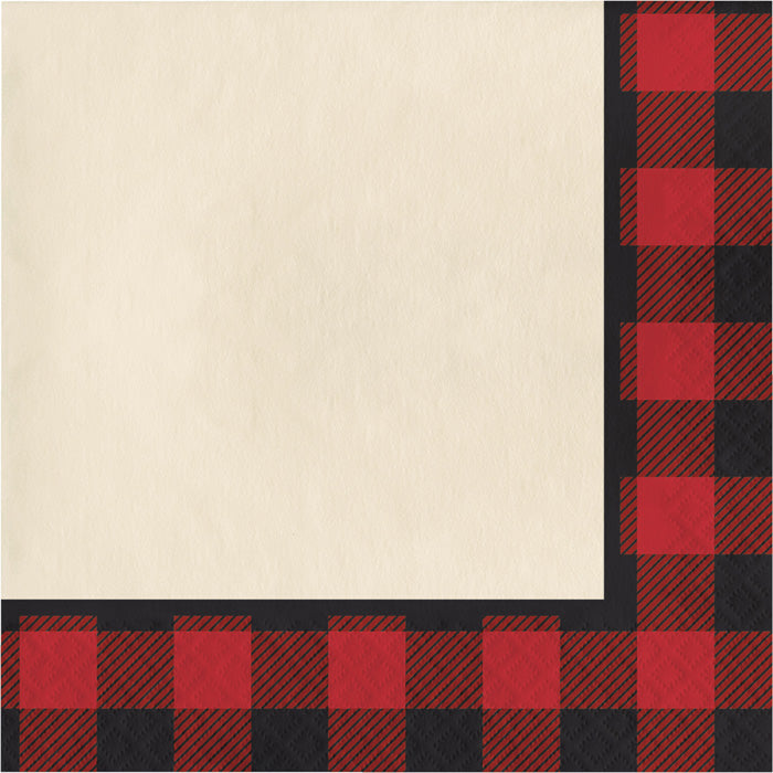 Buffalo Plaid Napkins, 16 ct by Creative Converting