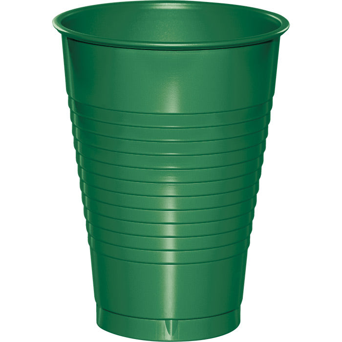 Emerald Green 12 Oz Plastic Cups, 20 ct by Creative Converting