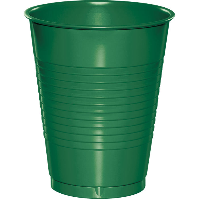 Emerald Green Plastic Cups, 20 ct by Creative Converting