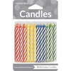Assorted Primary Color Candles, 24 ct by Creative Converting