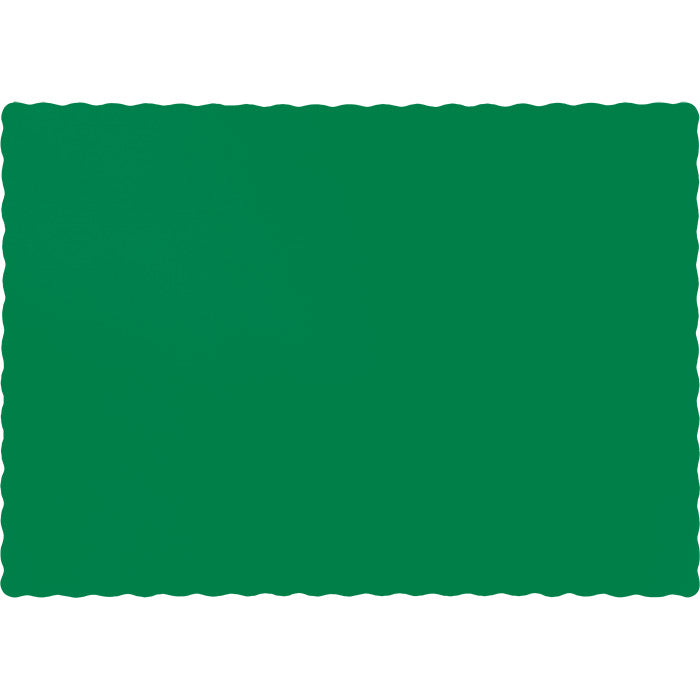 Emerald Green Placemats, 50 ct by Creative Converting