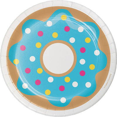 Donut Time Dessert Plates, 8 ct Party Supplies
