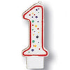 Polka Dot #1 Candle by Creative Converting