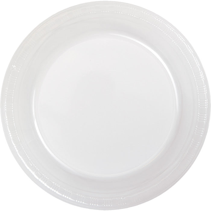Clear Plastic Dessert Plates, 20 ct by Creative Converting