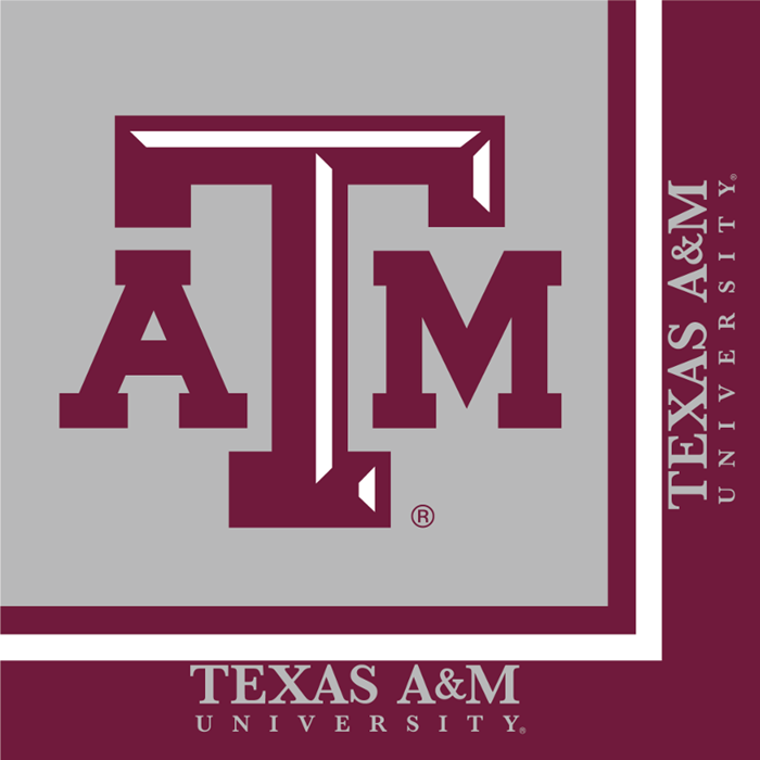Texas A And M University Napkins, 20 ct by Creative Converting
