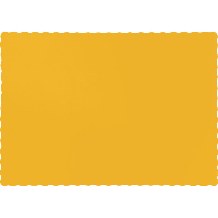 School Bus Yellow Placemats, 50 ct by Creative Converting