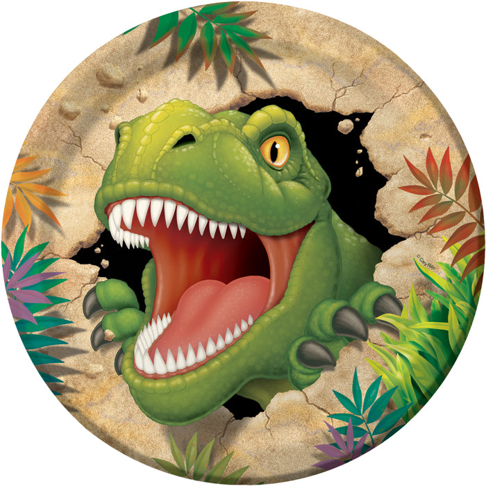 Dinosaur Paper Plates, 8 ct by Creative Converting