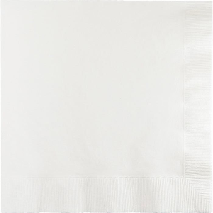 White Luncheon Napkin, 20 ct by Creative Converting