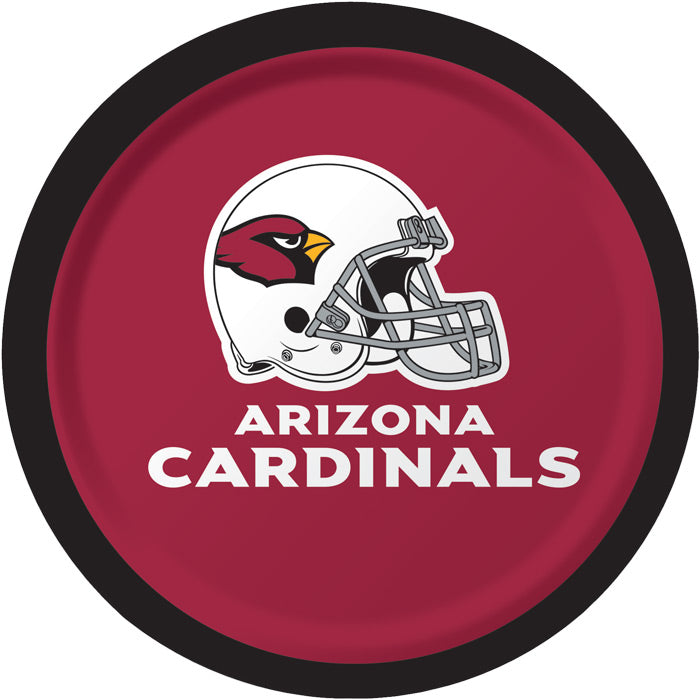 Arizona Cardinals Dessert Plates, 8 ct by Creative Converting