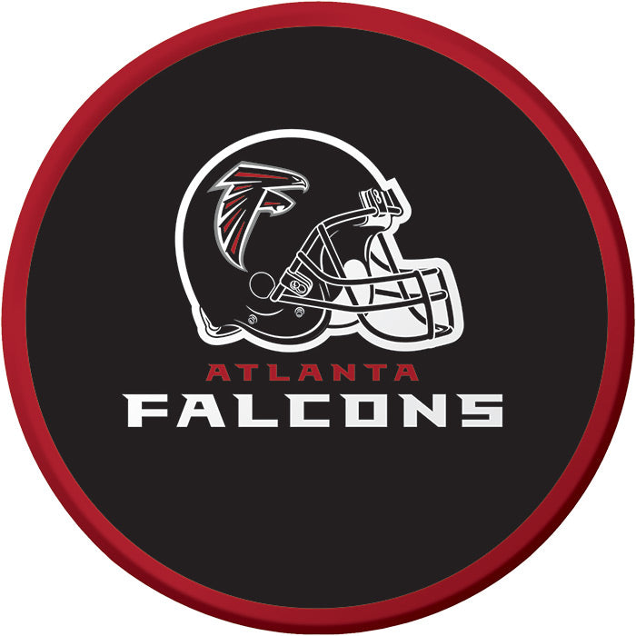Atlanta Falcons Dessert Plates, 8 ct by Creative Converting