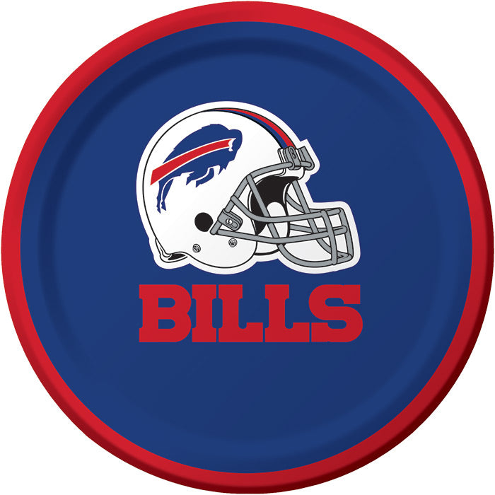 Buffalo Bills Dessert Plates, 8 ct by Creative Converting