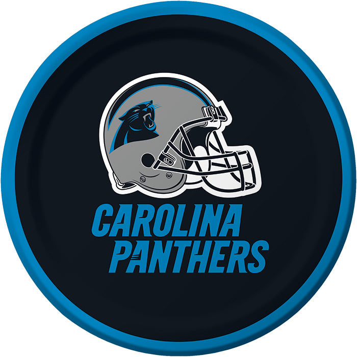Carolina Panther Dessert Plates, 8 ct by Creative Converting