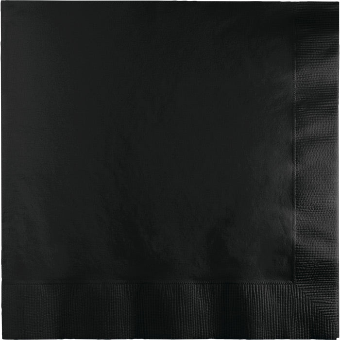Black Velvet Luncheon Napkin 2Ply, 50 ct by Creative Converting
